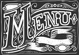 Menu Banner 04 Vintage Blackboard 2D