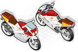 Motorcyle 01 Vehicle Isometric
