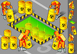 Nuclear 01 People Isometric
