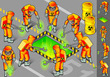 Nuclear 02 People Isometric