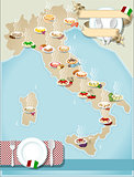 Pasta Italy 01 Infographic 2D