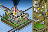 Petroleum Plant 01 Building Isometric