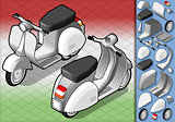 Scooter 01 Vehicle Isometric