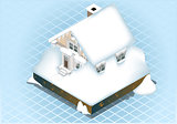 Snow 02 Building Isometric