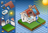 Solar Panel 02 Building Isometric