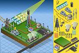 Termo Solar Plant 02 Building Isometric