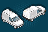 Van 14 Vehicle Isometric
