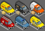 Van 15 Vehicle Isometric