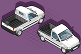 Van 16 Vehicle Isometric