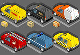 Van 17 Vehicle Isometric