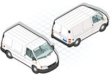 Van 18 Vehicle Isometric