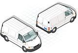 Van 18 Vehicle Isometric