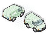 Van 19 Vehicle Isometric
