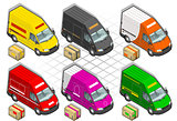 Van 20 Vehicle Isometric