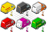 Van 21 Vehicle Isometric