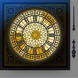 Victorian Clock 02 Object 2D