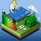 Certification 02 Energy Isometric