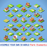 City 03 COMPLETE Set Isometric