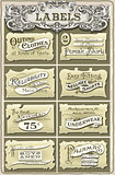 Clothing Labels Vintage 2D