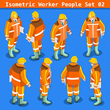 Construction 02 People Isometric