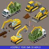 Construction 02 Vehicle Isometric