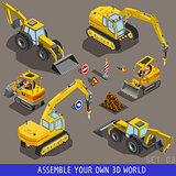 Construction 03 Vehicle Isometric