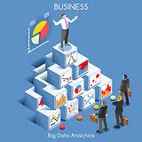 Data Analytics People Isometric