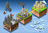 Energy 06 Infographic Isometric