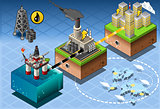 Energy 11 Infographic Isometric