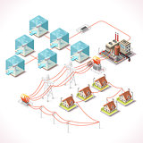 Energy 17 Infographic Isometric