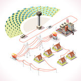 Energy 18 Infographic Isometric