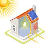 Energy Chain 03 Building Isometric