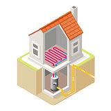 Energy Chain 04 Building Isometric