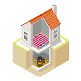 Energy Chain 07 Building Isometric