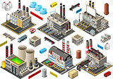 Factory Set Building Isometric