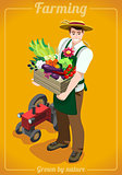 Farm Services People Isometric