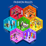 Fashion 01 Cells Isometric
