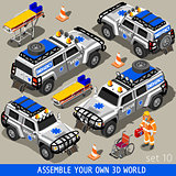 First Aid 02 Vehicle Isometric