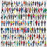Flat People 01 Collection 2D Walking Flat 01 People 2D
