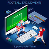 Football 01 People Isometric