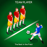 Football 02 People Isometric