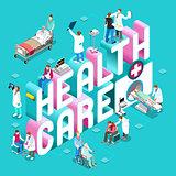 Healthcare 01 Concept Isometric