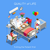 Hospital 01 People Isometric