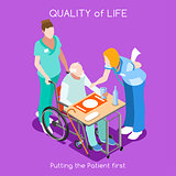 Hospital 04 People Isometric