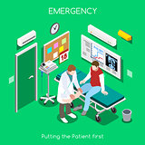 Hospital 05 People Isometric