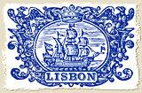 Lisbon Azulejos 02 Vintage 2D