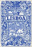 Lisbon Azulejos 04 Vintage 2D