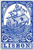 Lisbon Azulejos 05 Vintage 2D