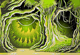 Magic Forest 01 Landscape Fantasy