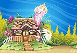 Marzipan House Landscape Fantasy